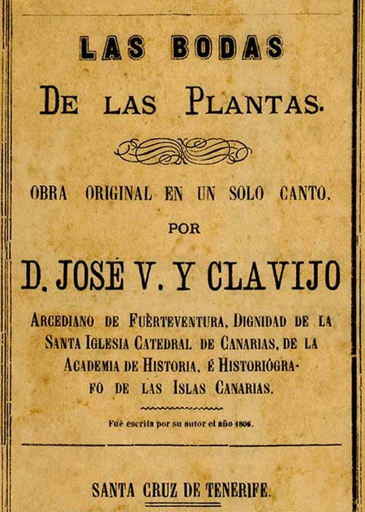 Las bodas de las plantas, Viera y Clavijo