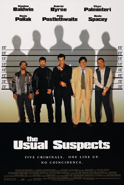 Póster Sospechosos habituales (The Usual Suspects)