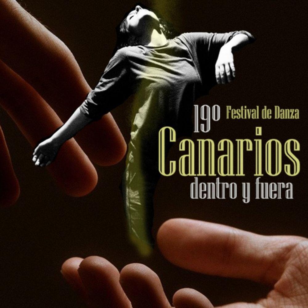Cartel 19 Festival de Danza Canarios Dentro y Fuera