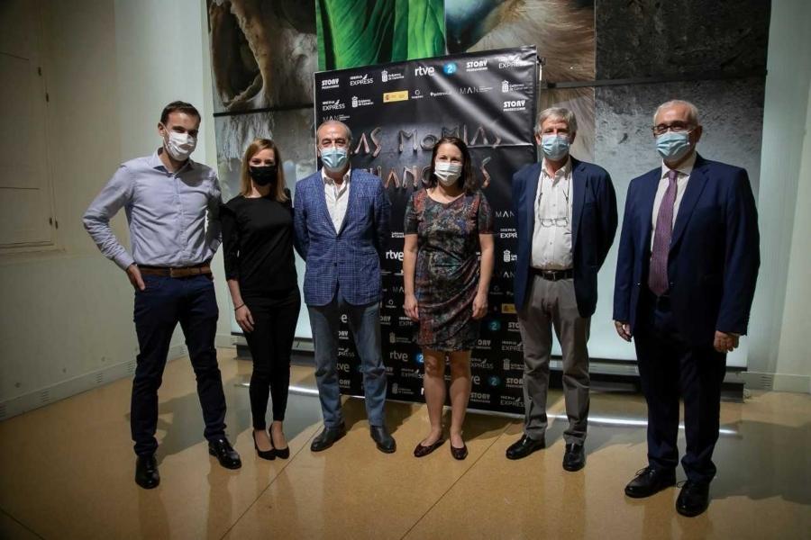 Presentación documental Las momias guanches