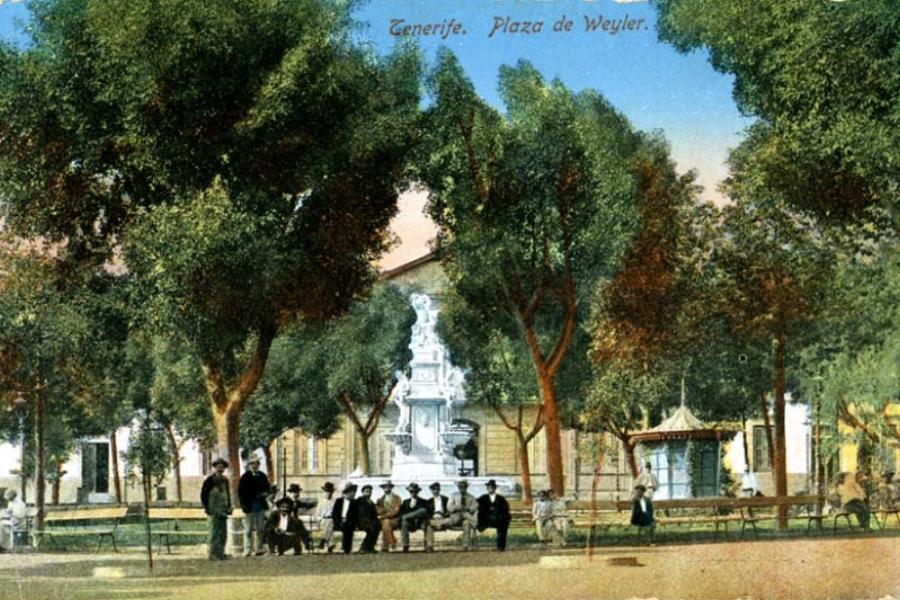 Plaza Weyler. Santa Cruz