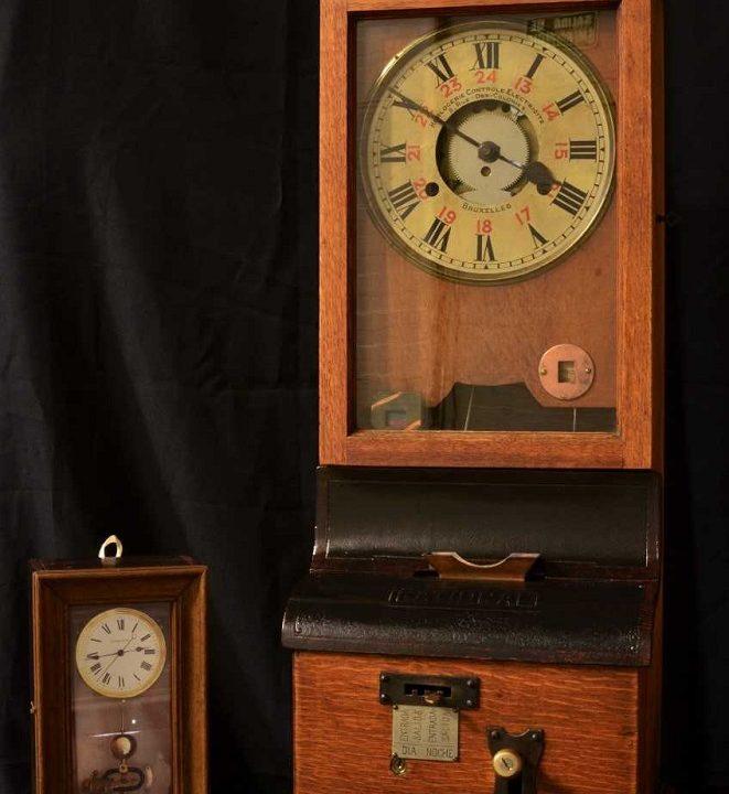 Reloj tranvía