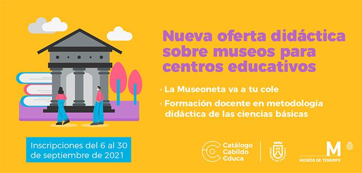 Oferta educativa de Museos de Tenerife